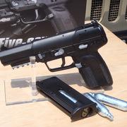 新しいエネルギーソースの提案! マルシンCO2ガスブローバック FN 5-7 新発売!