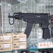 新発売! KSC Vz61スコーピオン(HW)ガスブローバック