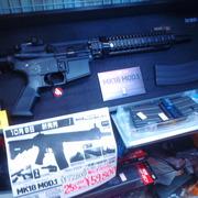 マルイ 新製品 !  M4系 ガスブローバック  MK18 MOD.1  入荷!!  25%Off+消費税¥59,800